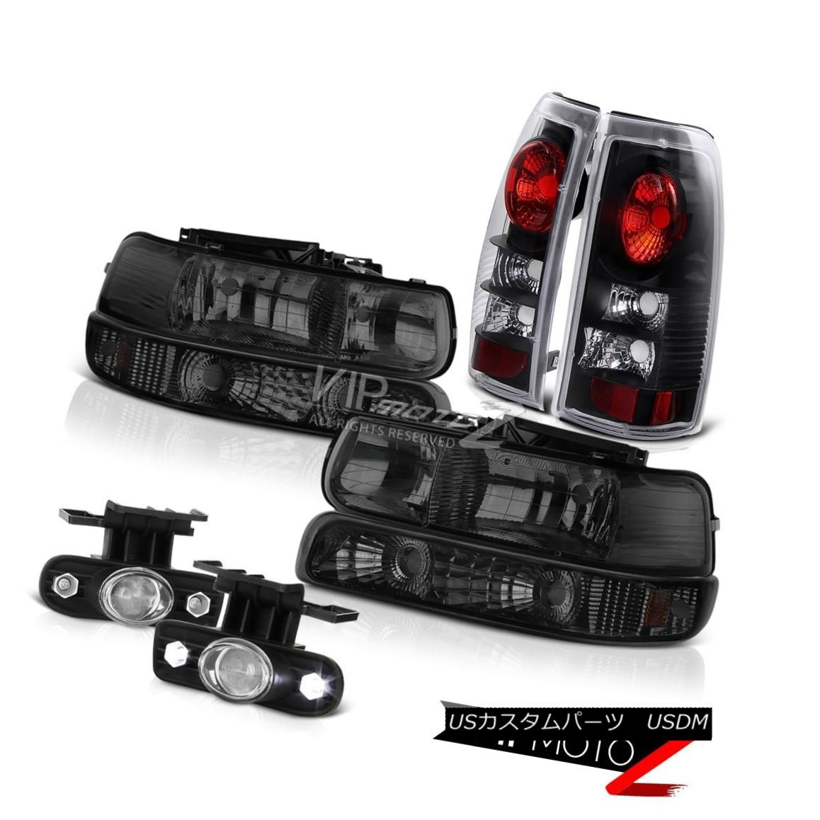 ヘッドライト Bumper+Headlights Tail Brake Lamps Projector Foglights 1999-2002 Silveardo Z71 バンパー+ヘッドライト htsテールブレーキランププロジェクターフォグライト1999-2002 Silverado Z71