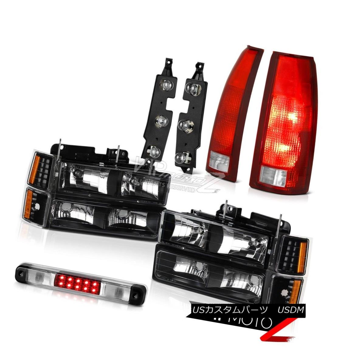 ヘッドライト 94-98 Chevy C2500 Roof Cab Lamp Tail Lamps Bulbs Panel Headlights Parking Lamps 94-98シボレーC2500ルーフキャブのランプテールランプバルブのパネルヘッドライトパーキングランプ