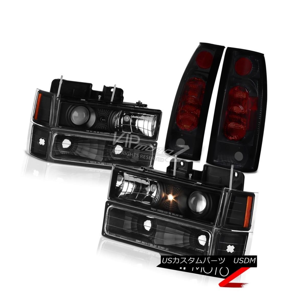 ヘッドライト Headlights Signal Corner Sinister Black Altezza Tail Light Chevy Suburban 94-99 ヘッドライト信号コーナーシニスターブラックAltezzaテールライトシボレー郊外94-99