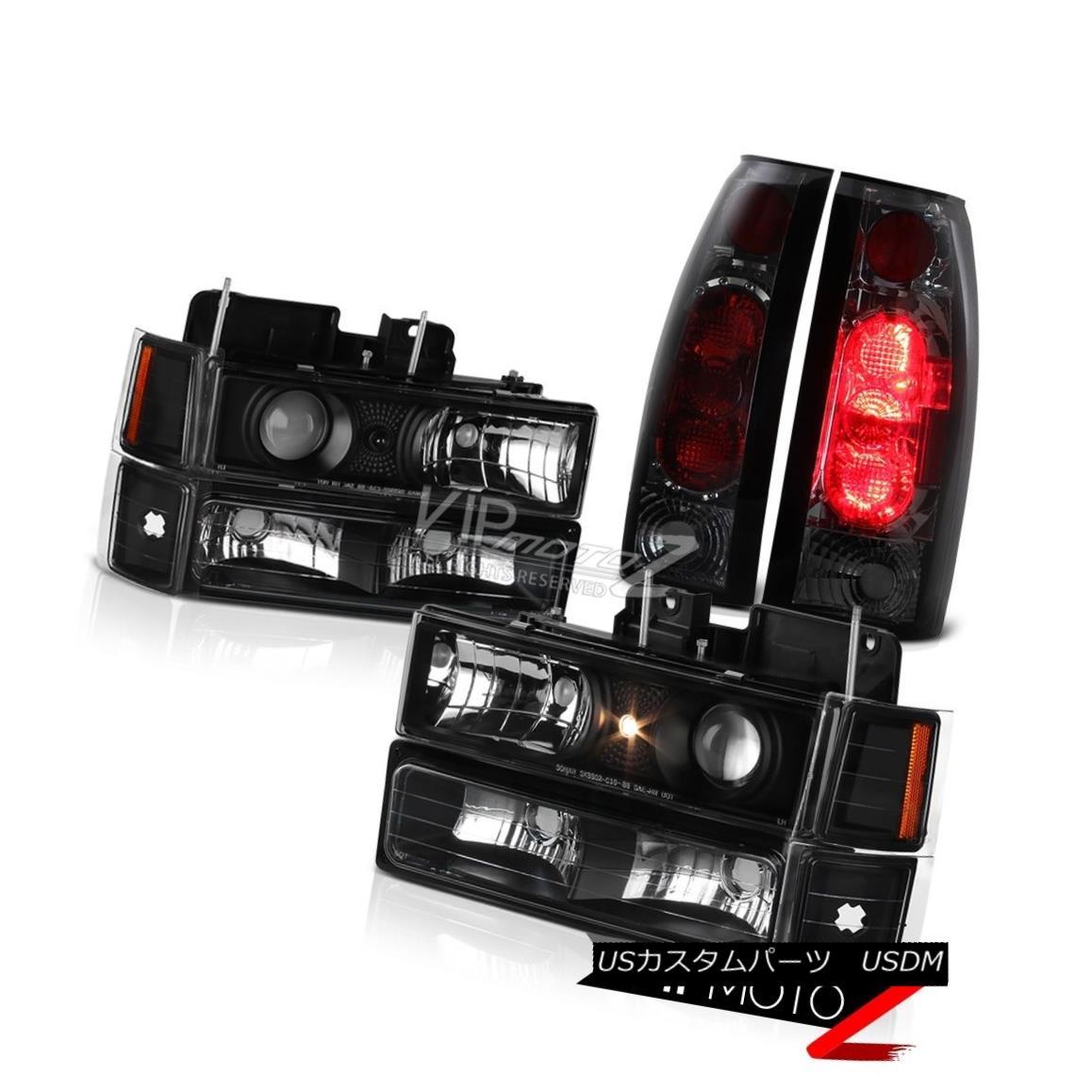 ヘッドライト Projector Headlight Corner Bumper Smoke Tail Light 94 95 96 97 98 Suburban Tahoe プロジェクターヘッドライトコーナーバンパー煙テールライト94 95 96 97 98郊外のタホ