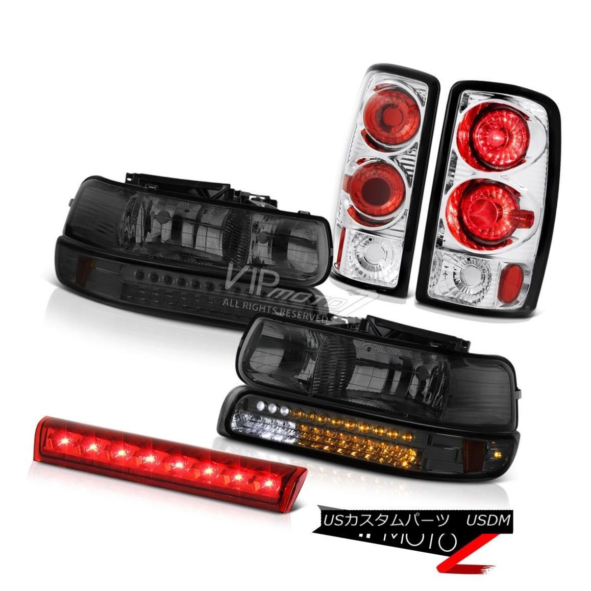 ヘッドライト 00 01 02 03 04 05 06 Suburban 1500 DRL Parking Headlights Euro Chrome Taillight 00 01 02 03 04 05 06郊外1500 DRLパーキングヘッドライトEuro Chrome Taillight