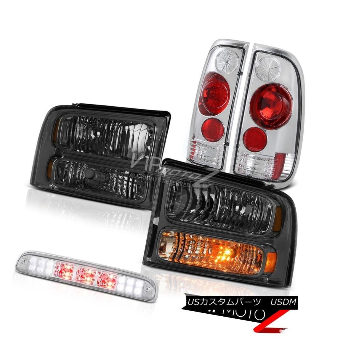 車用品 バイク用品 >> パーツ ギフ_包装 ライト ランプ ヘッドライト Crystal Tinted Headlights Brake Taillight クリスタルティントヘッドライト信号ブレーキテールライトルーフLED 05-07 Chrome チープ F550 Roof Signal LED F450