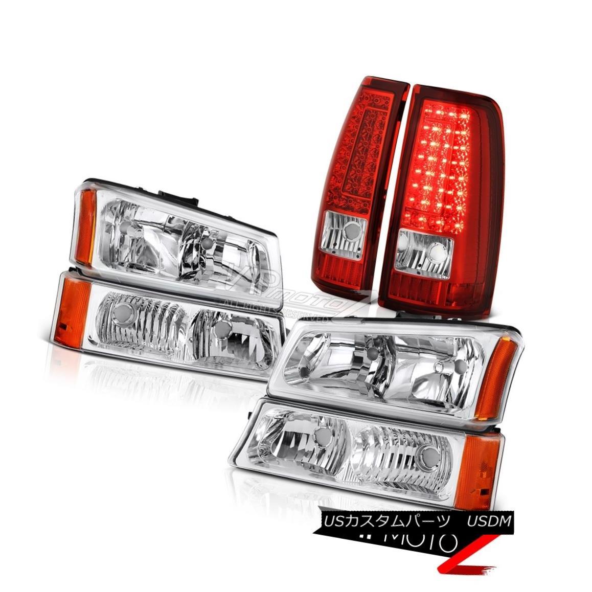 ヘッドライト 2003-2006 Chevy Silverado 2500Hd Taillamps Euro Clear Headlamps