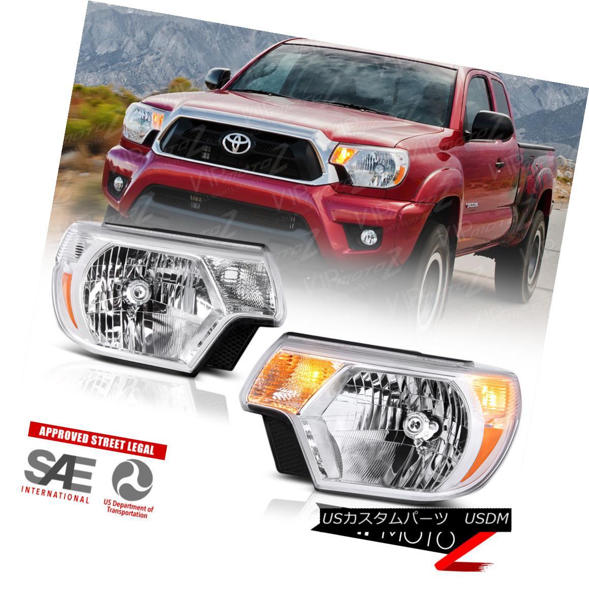 ヘッドライト 2012-2015 Toyota Tacoma