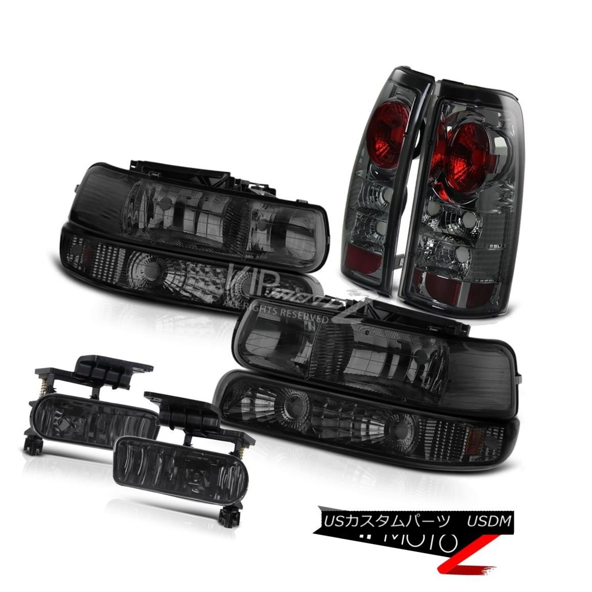 ヘッドライト [DARKEST SMOKE] Headlights+Signal Bumper+Altezza Tail Lights+