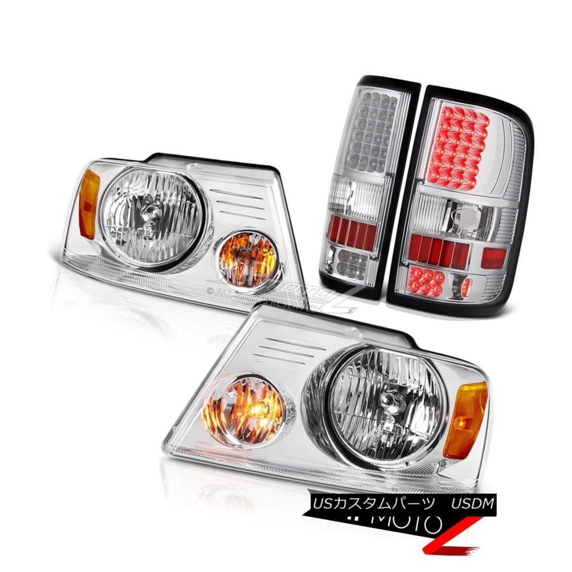 ヘッドライト [LED BRAKE SIGNAL TAIL LIGHTS+FRONT CLEAR HEADLIGHT] PICKUP TRUCK F150 2004-2008 [LEDブレーキ信号テールライト+前面クリアライト] PICKUP TRUCK F150 2004-2008