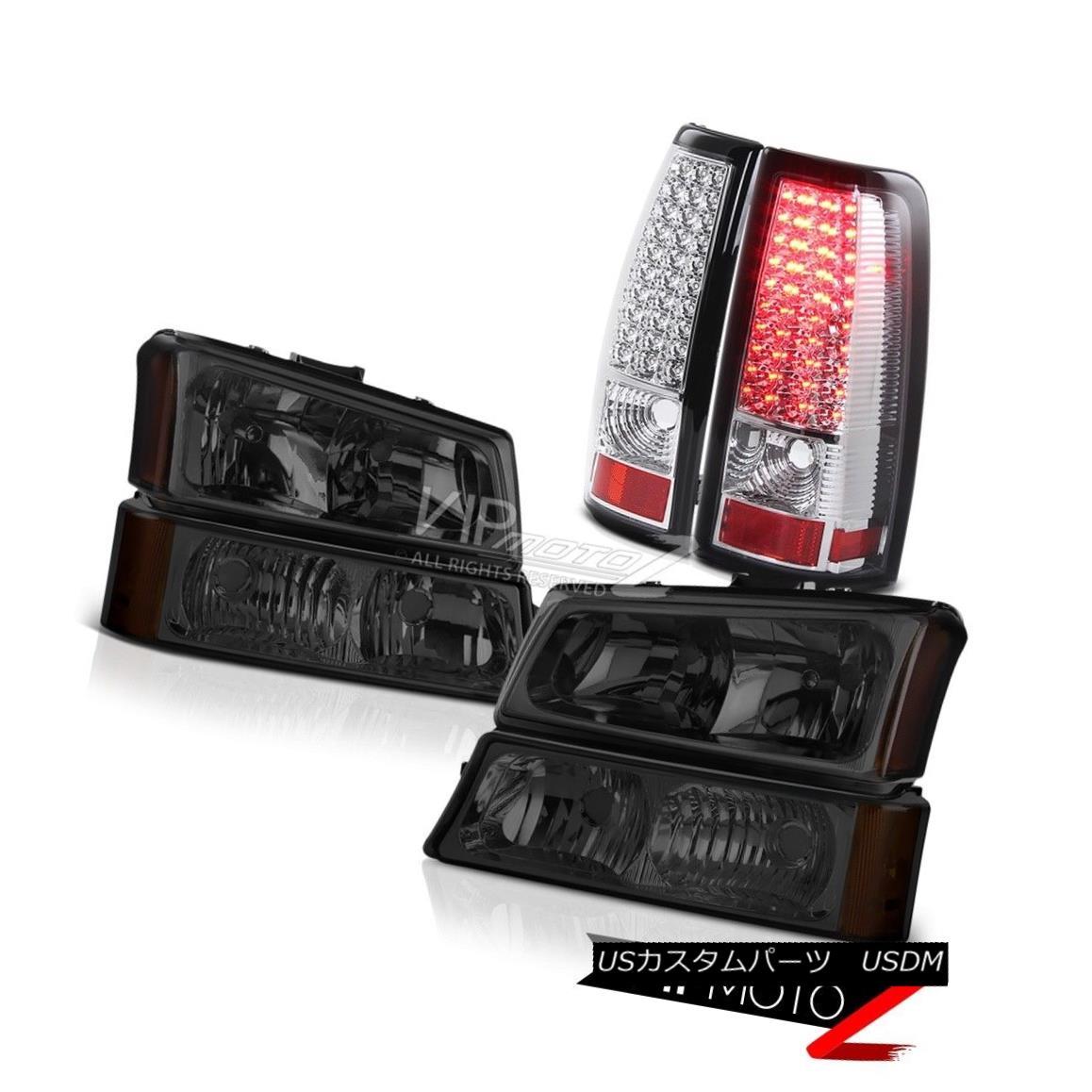 ヘッドライト Smoke Tinted Bumper+Head Lights