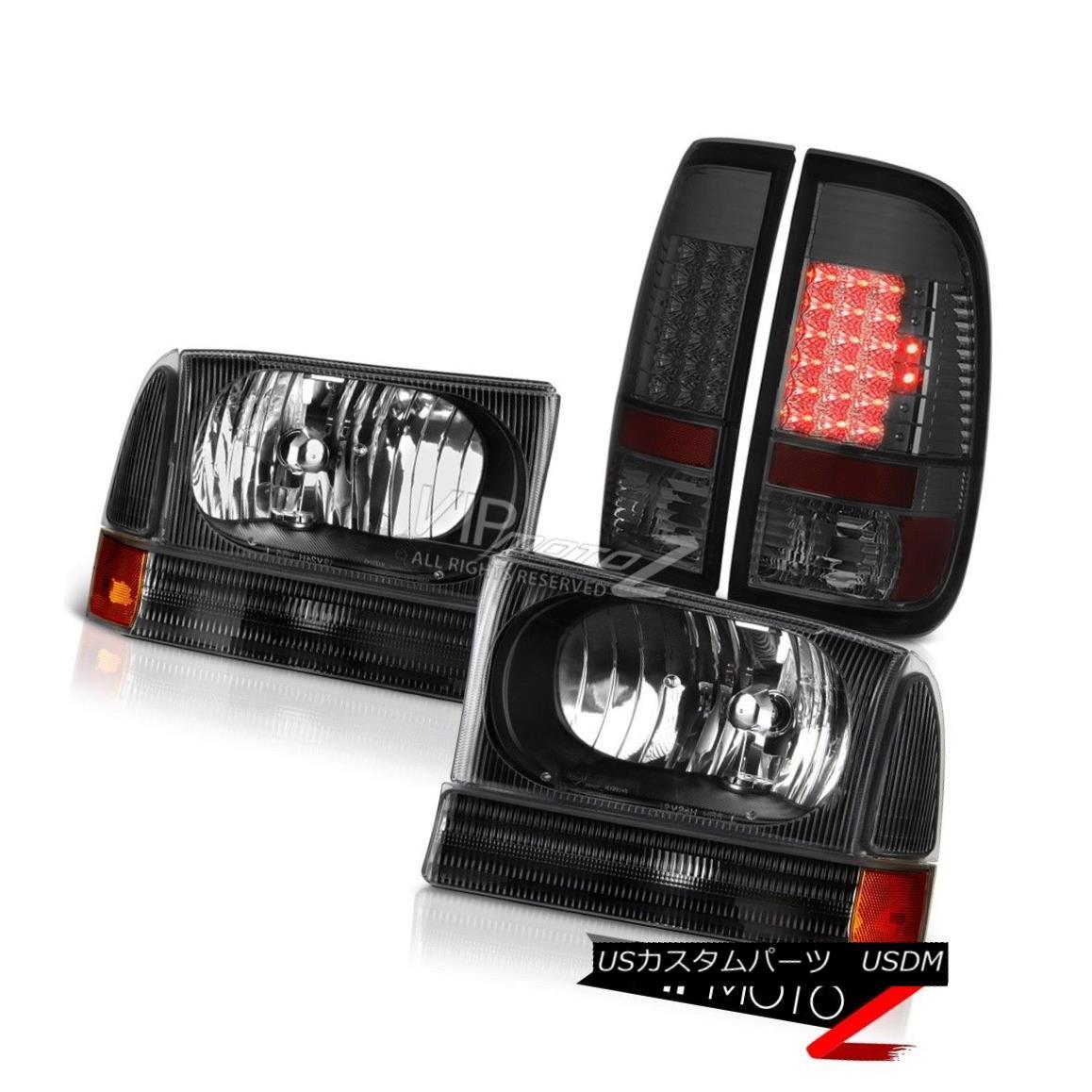 03-06 Silverado Red /& Smoked Factory Style Rear Tail Lights Brake Lamps Pair Set