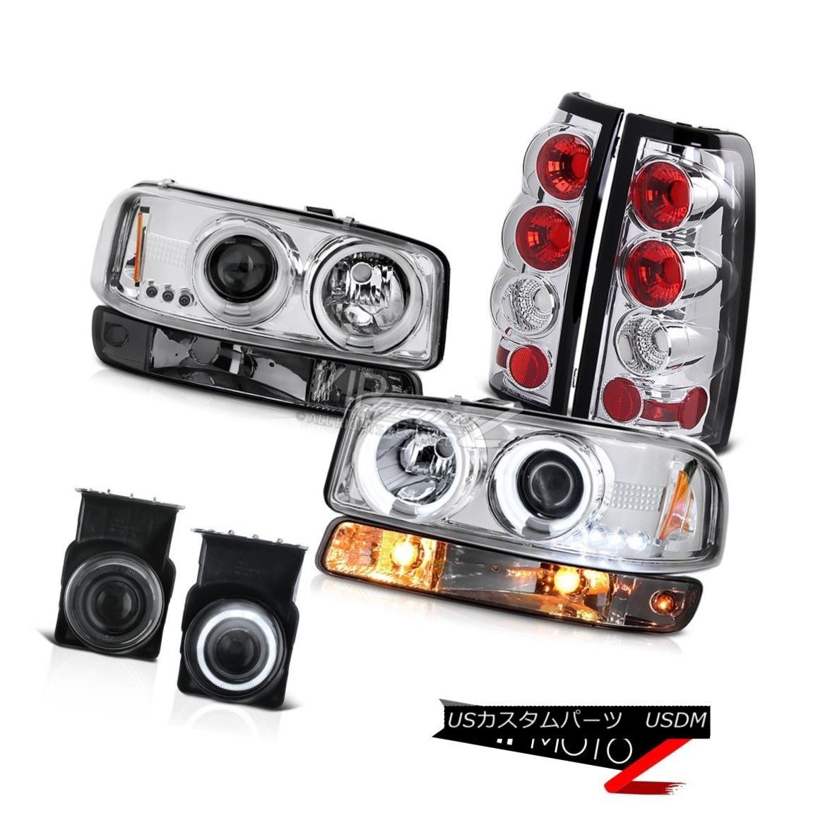 ヘッドライト 2003-2006 Sierra WT Foglamps taillights turn signal ccfl projector headlights 2003-2006シエラWTフォグランプテールライト信号ccflプロジェクターヘッドライト