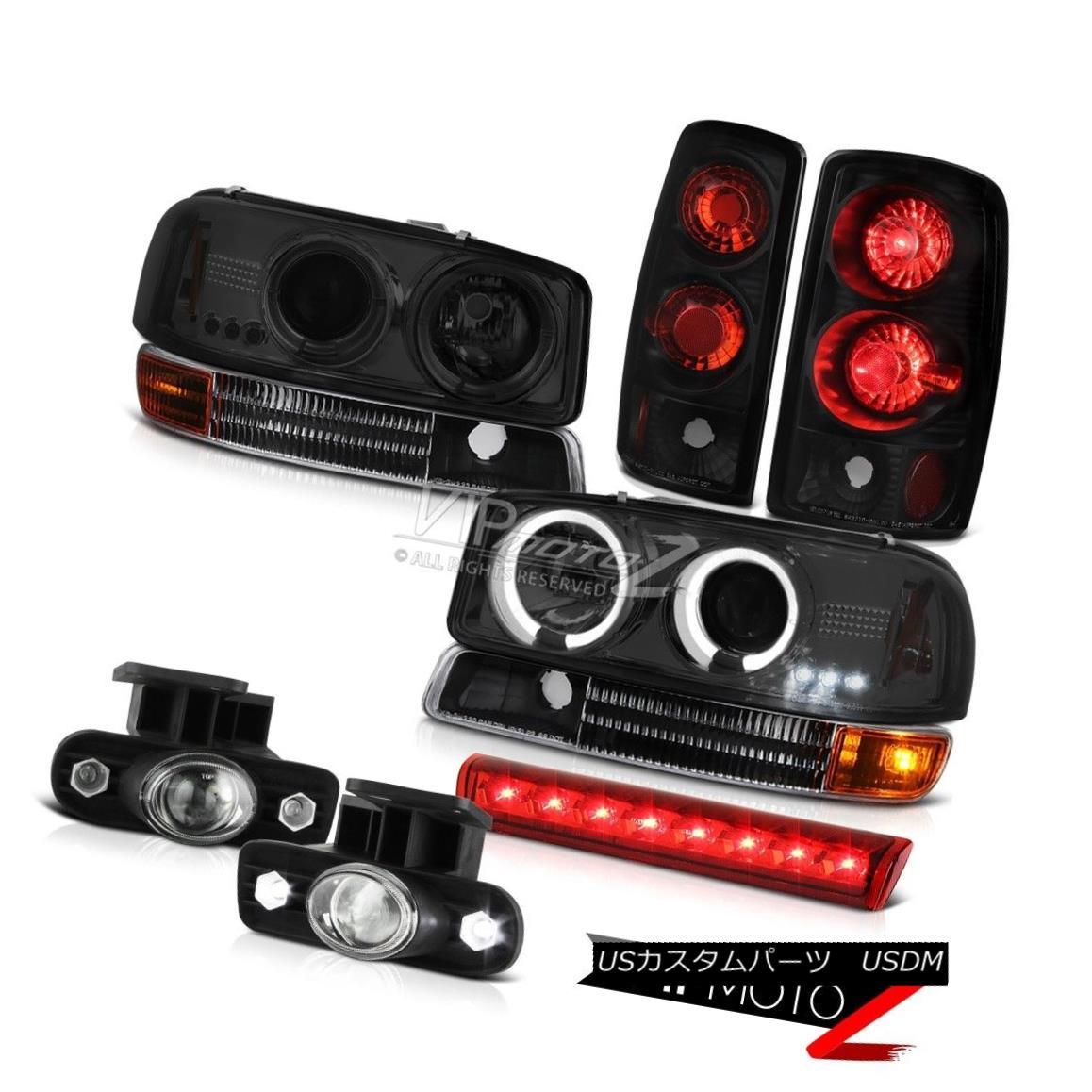 ヘッドライト 00-06 Yukon 8.1L Halo Headlights Signal Taillight FogLights High Brake Cargo LED 00-06ユーコン8.1Lハローヘッドライト信号尾灯FogLightsハイブレーキカーゴLED