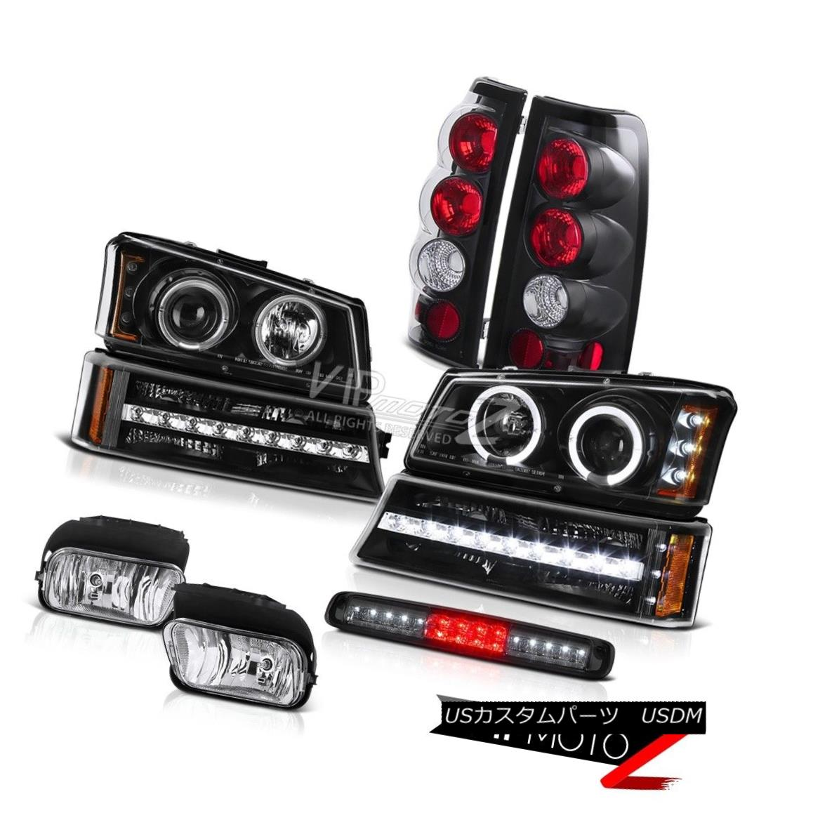 ヘッドライト 03-06 Chevy Silverado Foglamps Smokey Roof Cab Lamp Bumper Headlights Taillights 03-06 Chevy Silverado Foglampsスモーキールーフキャブランプバンパーヘッドライトテールライト