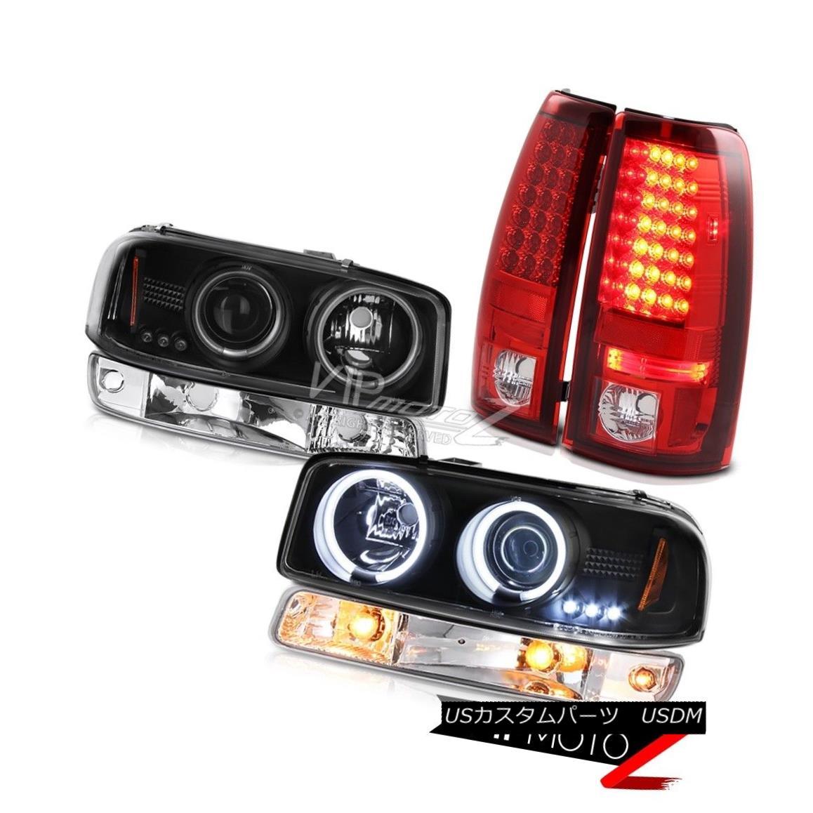ヘッドライト 1999-2006 Sierra 1500 Taillamps chrome signal light raven black ccfl headlights 1999-2006 Sierra 1500 Taillampsクロームシグナルライトレーブンブラックccflヘッドライト