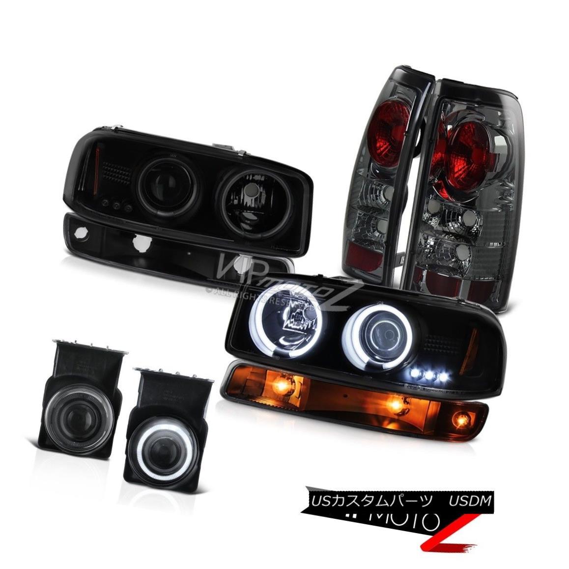 ヘッドライト 03 04 05 06 Sierra SL Smokey foglights taillights turn signal ccfl headlamps 03 04 05 06 Sierra SLスモーキー・フォグライト・テールライト・シグナルccflヘッドライト