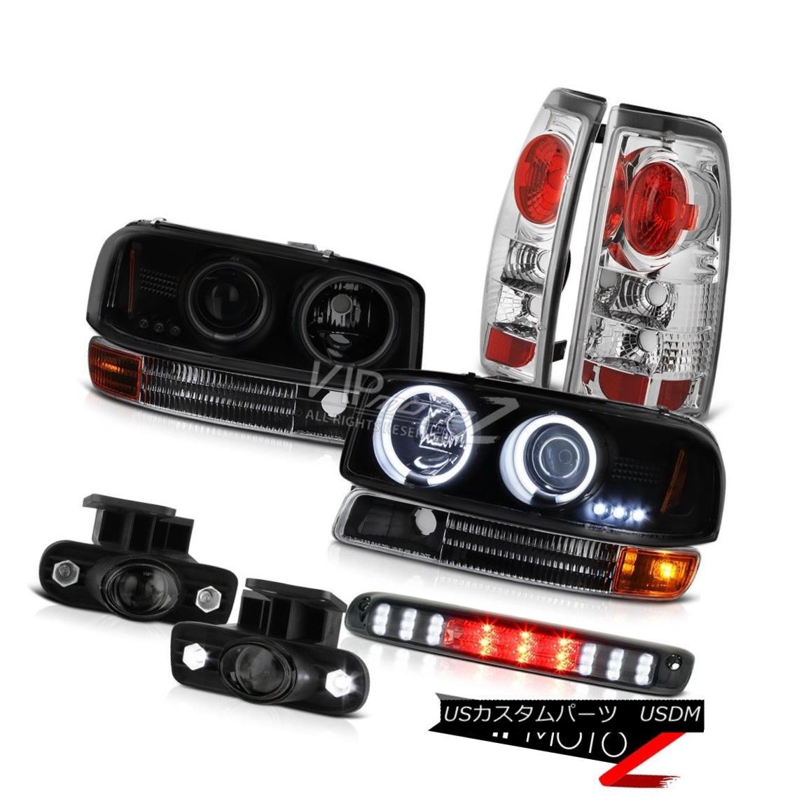 ヘッドライト 99-02 Sierra CCFL Fluorescence Halo Headlights Altezza Tail Lights Projector Fog 99-02 Sierra CCFL蛍光ハローヘッドライトAltezza Tail Lightsプロジェクターフォグ