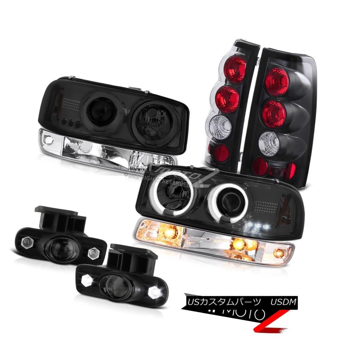 ヘッドライト 99-02 Sierra 4.3L Foglights rear brake lights parking lamp ccfl headlights LED 99-02シエラ4.3LフォグライトリアブレーキライトパーキングランプccflヘッドライトLED