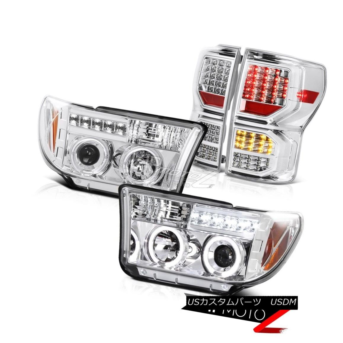 ヘッドライト 2007-2013 Toyota Tundra Limited Tail Brake Lamps Projector Headlamps LED Tube 2007-2013 Toyota Tundra LimitedテールブレーキランププロジェクターヘッドランプLEDチューブ