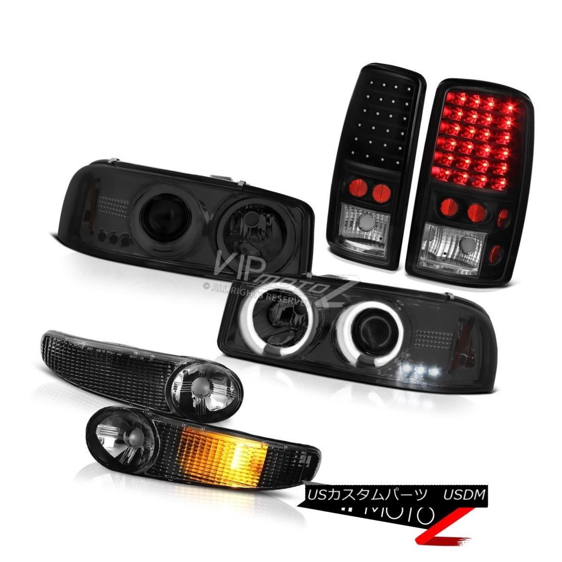 ヘッドライト 00 01 02 03 04 05 06 Yukon Eye CCFL Halo Headlight Signal Brake LED Tail Lights 00 01 02 03 04 05 06ユーコンアイCCFL Haloヘッドライト信号ブレーキLEDテールライト