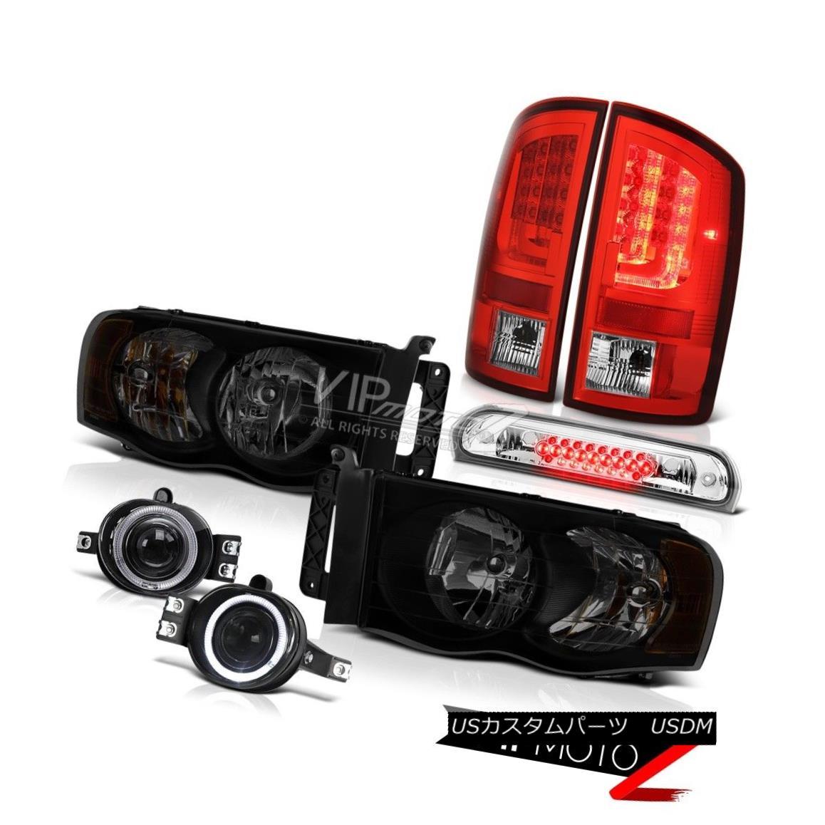 ヘッドライト 02-05 Dodge Ram 1500 2500 5.9L Tail Lamps Headlamps Foglamps Third Brake Light 02-05 Dodge Ram 1500 2500 5.9Lテールランプヘッドランプフォグランプ第3ブレーキライト