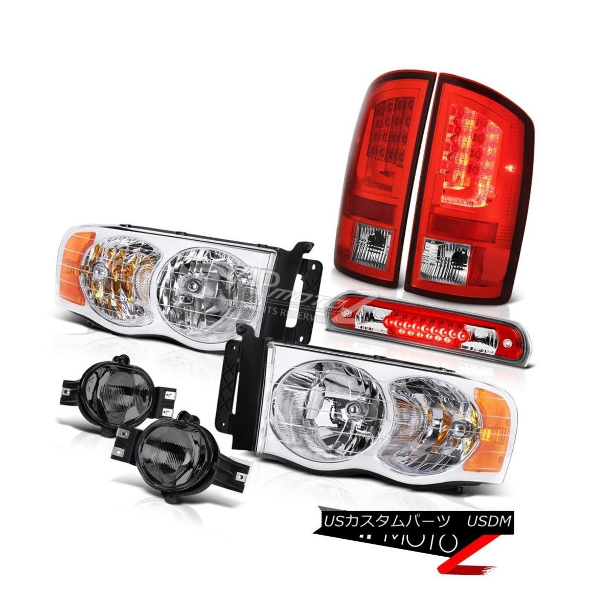 ヘッドライト 2003-2005 Dodge Ram 2500 5.9L Tail Lights Headlights Foglights High STop Lamp 2003-2005 Dodge Ram 2500 5.9LテールライトヘッドライトFoglights High STOPランプ
