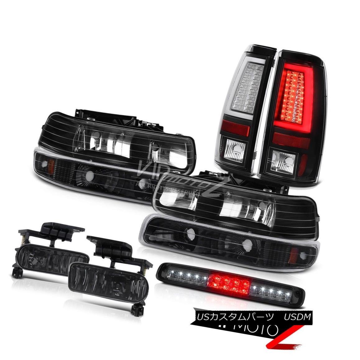 ヘッドライト 99-02 Silverado WT Taillights Roof Cab Lamp Headlamps Foglamps