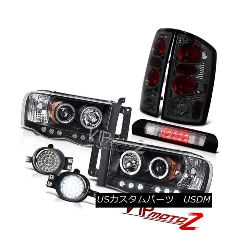 人気海外一番 車用品 バイク用品 >> パーツ ライト ランプ ヘッドライト Halo Headlights Smoke Red High Fog Lights いよいよ人気ブランド Tail Stop Bumper Ram Chrome LED 02-05 ハローヘッドライトスモークテールライトLEDバンパーフォグハイストップクロム02-05