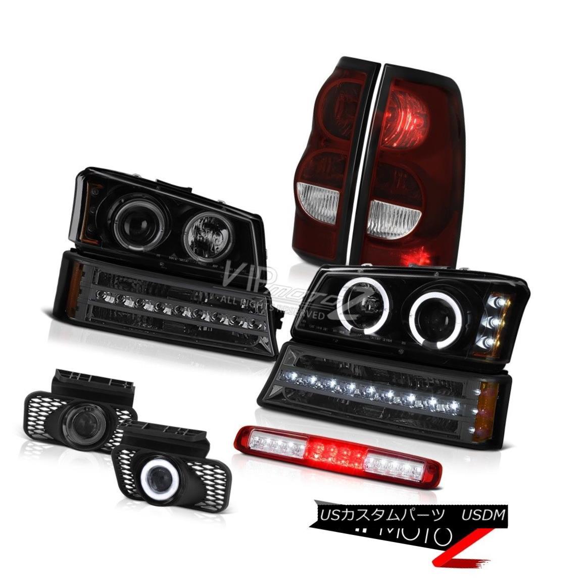 ヘッドライト 03-06 Silverado 3500Hd 3RD Brake Light Foglights Tail Lights Signal Headlights 03-06 Silverado 3500Hd 3RDブレーキライトフォグライトテールライトシグナルヘッドライト