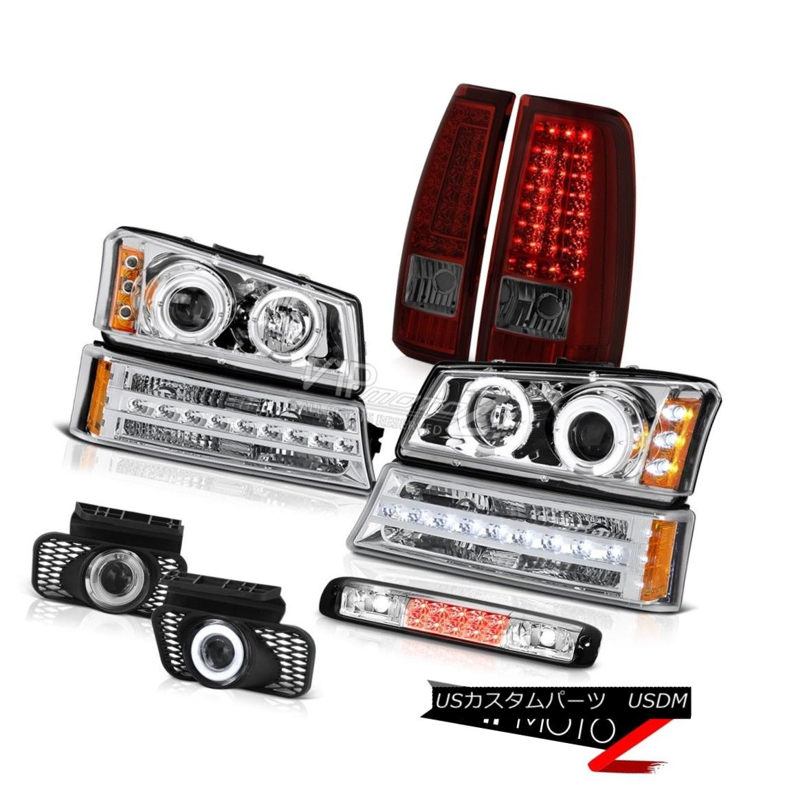 ヘッドライト 03-06 Silverado 1500 3RD Brake Light Fog Lights Taillights Signal Headlamps LED 03-06 Silverado 1500 3RDブレーキライトフォグライトテールライトシグナルヘッドランプLED