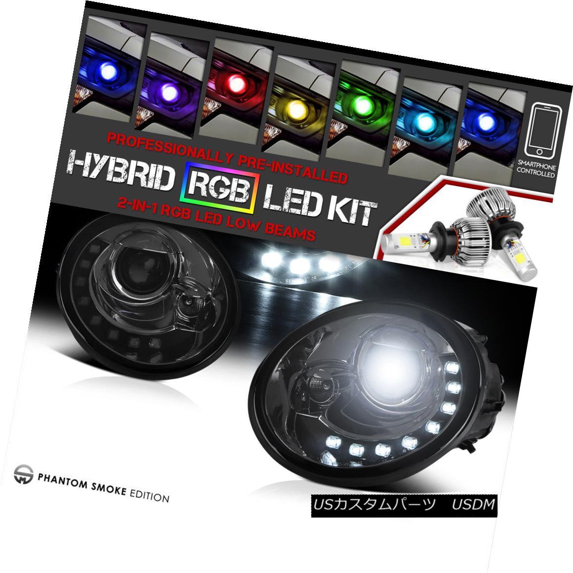 ヘッドライト [COLOR CHANGING LED LOW BEAM] 98-2005 Volkswagen Beetle