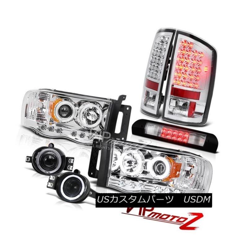 ヘッドライト Headlights SMD Rear Light Projector Fog Chrome 3rd Brake LED 2002-2005 Ram Hemi ヘッドライトSMDリアライトプロジェクターフォグクロム第3ブレーキLED 2002-2005 Ram Hemi