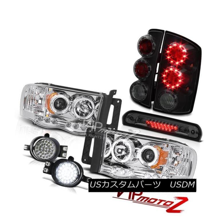 ヘッドライト 02 03 04 05 Ram Angel Eye Headlights LED Tail Lights Bumper Fog 3rd Brake Cargo 02 03 04 05ラムエンジェルアイヘッドライトLEDテールライトバンパーフォグ3rdブレーキカーゴ