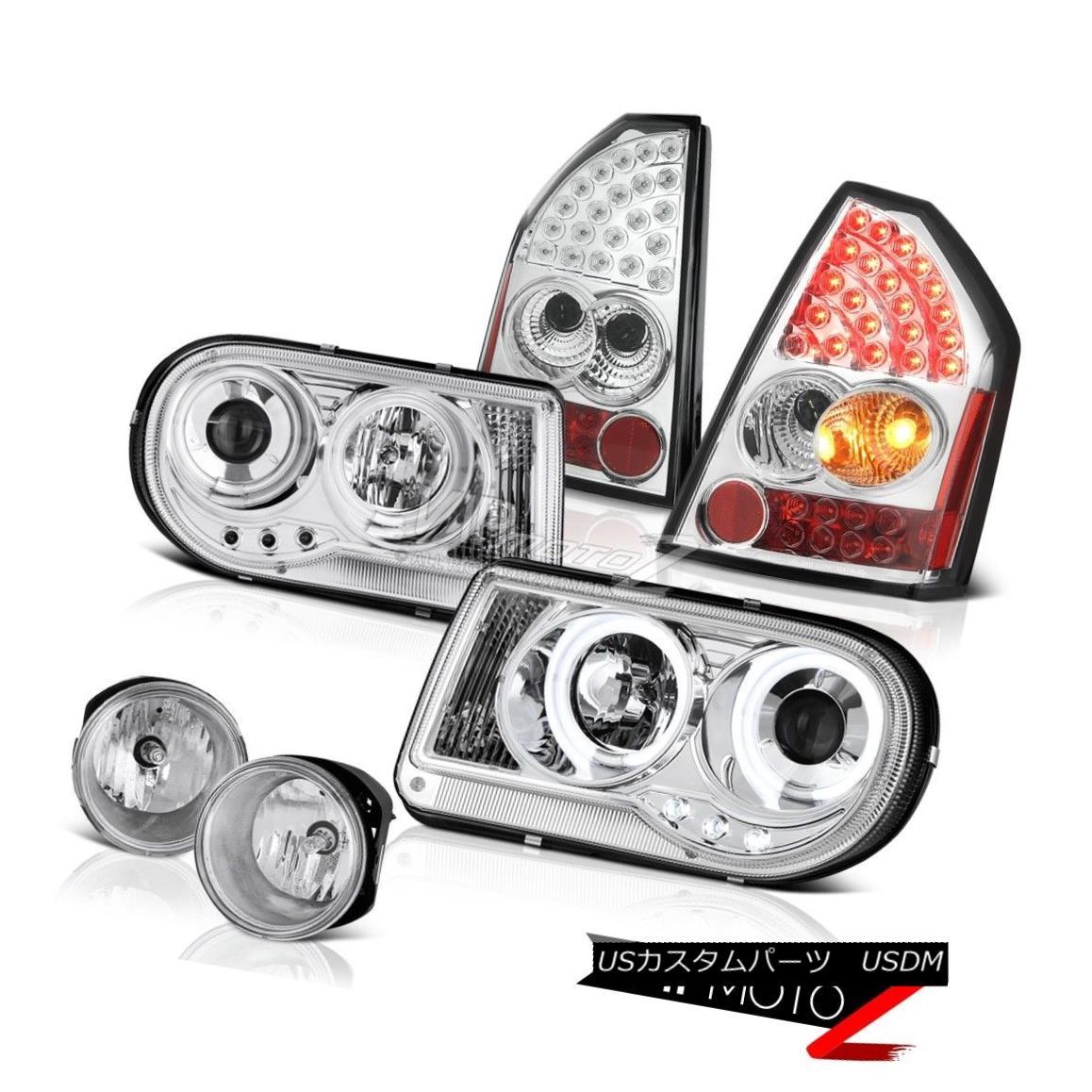 ヘッドライト Brightest CCFL Headlight LED Taillights Foglamps 05 06 07 Chrysler 300C SRT8 最も明るいCCFLヘッドライトLED灯台Foglamps 05 06 07 Chrysler 300C SRT8