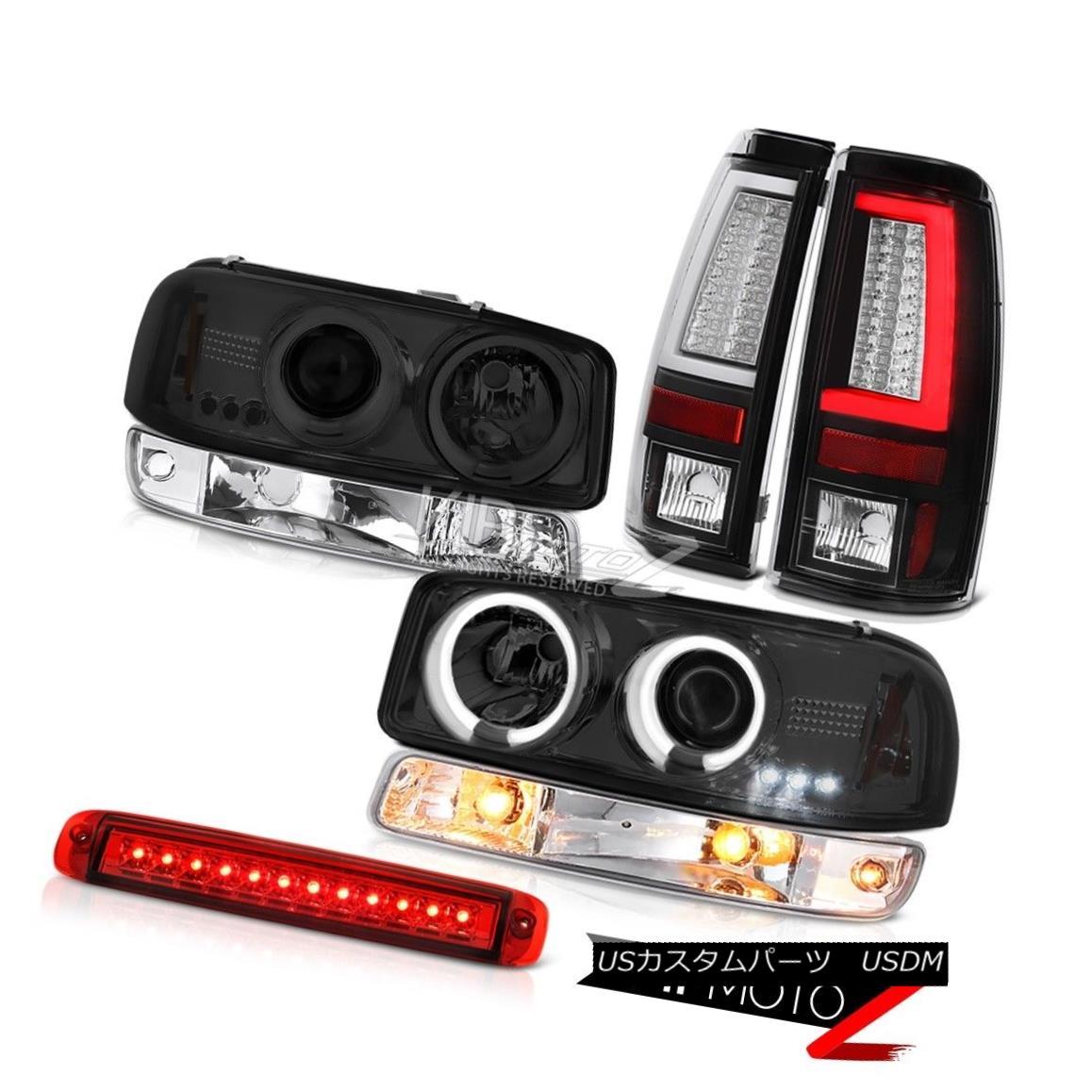 ヘッドライト 1999-2006 Sierra 5.3L Black Taillamps High Stop Light Signal CCFL Headlights LED 1999-2006 Sierra 5.3L Black Taillampsハイストップライト信号CCFLヘッドライトLED