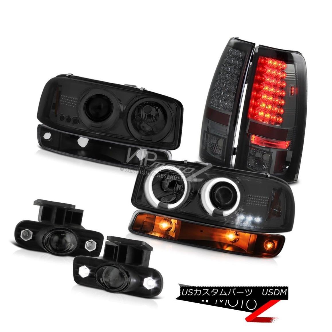 ヘッドライト 99-02 Sierra 2500 Foglights smd parking brake lights black light ccfl Headlamps 99-02 Sierra 2500 Foglights smdパーキングブレーキライトブラックライトccflヘッドランプ