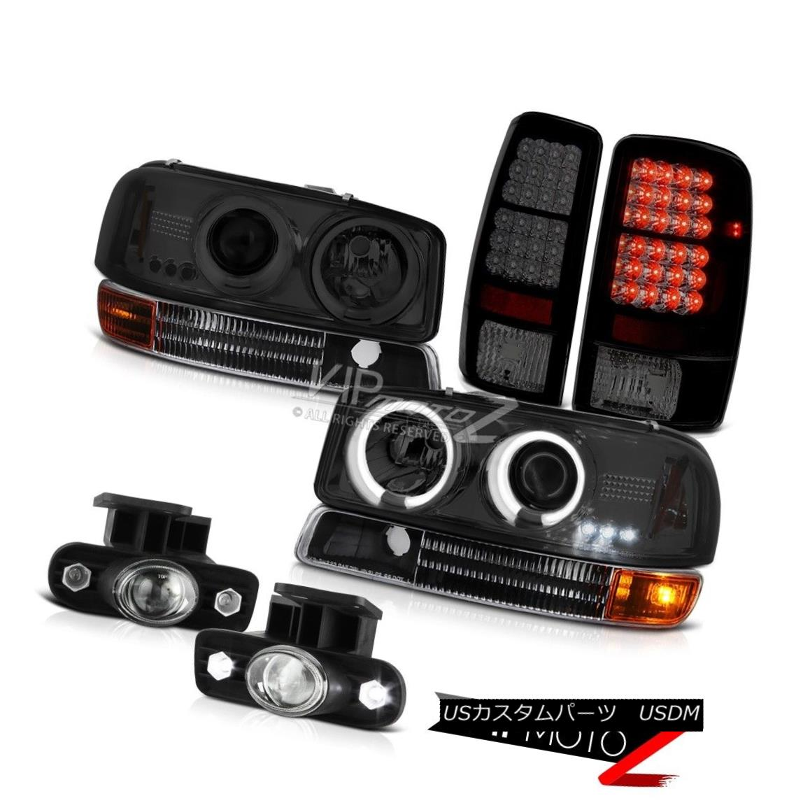 ヘッドライト CCFL Tech Headlights Signal Black LED TailLights FogLights 2000-2006 Yukon XL V8 CCFLテクニカルヘッドライト信号ブラックLEDテールライトFogLights 2000-2006 Yukon XL V8