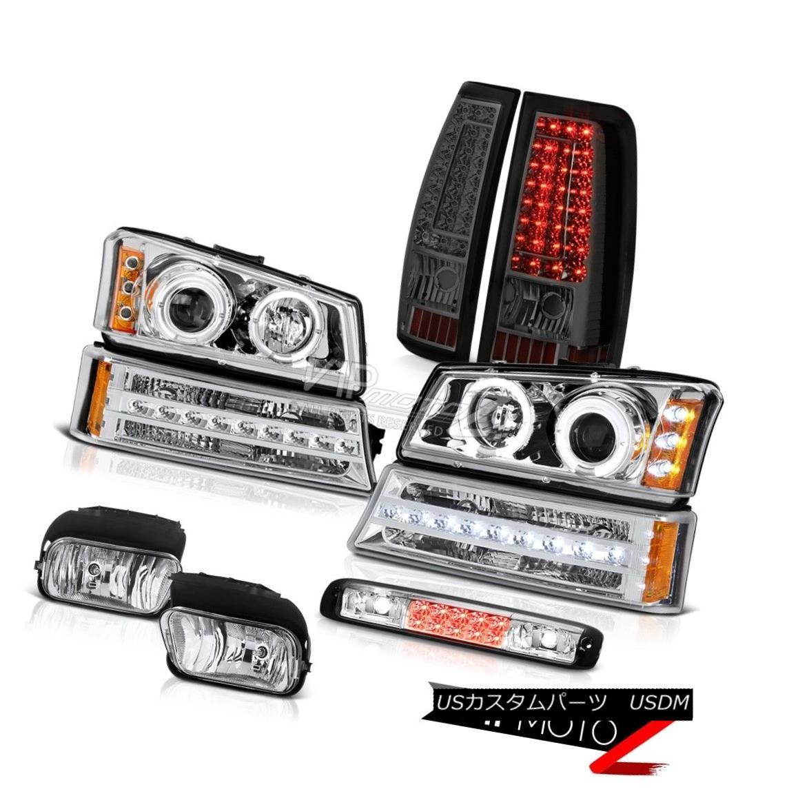 ヘッドライト 2003-2006 Silverado 3500Hd 3RD Brake Lamp Fog Lamps Rear Parking Light Headlamps 2003-2006シルバラード3500Hd 3RDブレーキランプフォグランプリアパーキングライトヘッドランプ