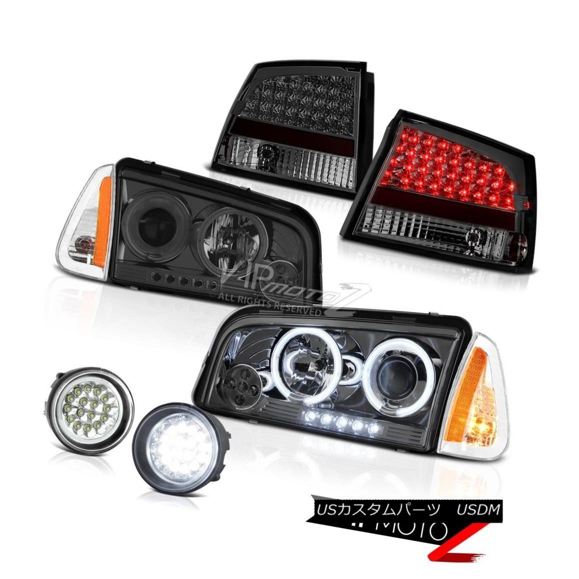 ヘッドライト 2009 2010 Dodge Charger 2.7L Fog lights parking brake light Projector Headlights 2009年のダッジチャージャー2.7Lの霧ライトパーキングブレーキライトプロジェクターヘッドライト