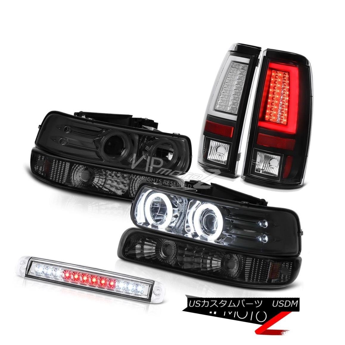 ヘッドライト 1999-2002 Silverado 4.3L Taillights High Stop Light Bumper Projector Headlights 1999-2002 Silverado 4.3L灯台ハイストップライトバンパープロジェクターヘッドライト
