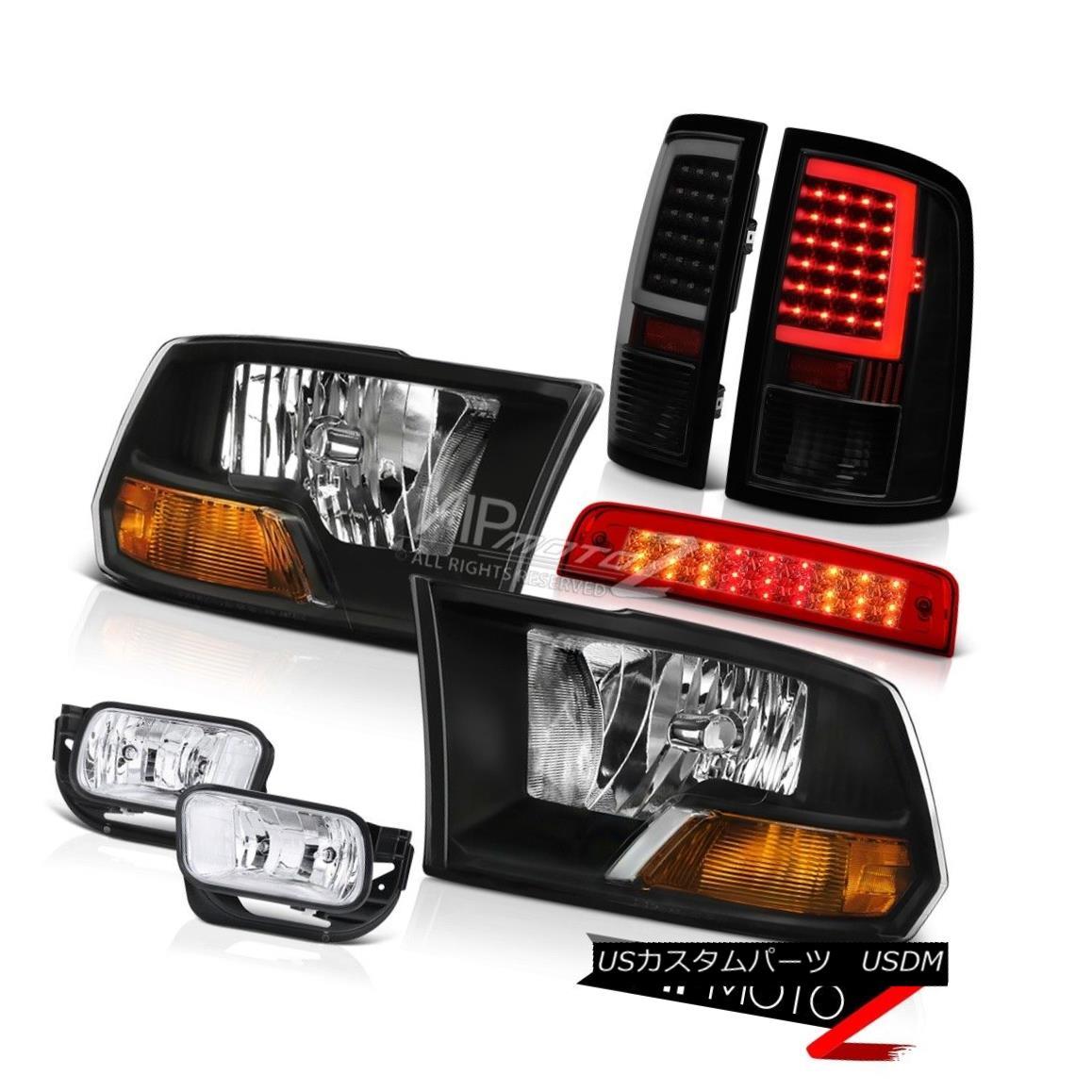 ヘッドライト 09-14 15-17 Dodge RAM 2500 Tail Lamp Brake Light Fog Factory Style Headlamps SET 09-14 15-17 Dodge RAM 2500テールランプブレーキライトフォグ工場スタイルヘッドライトSET