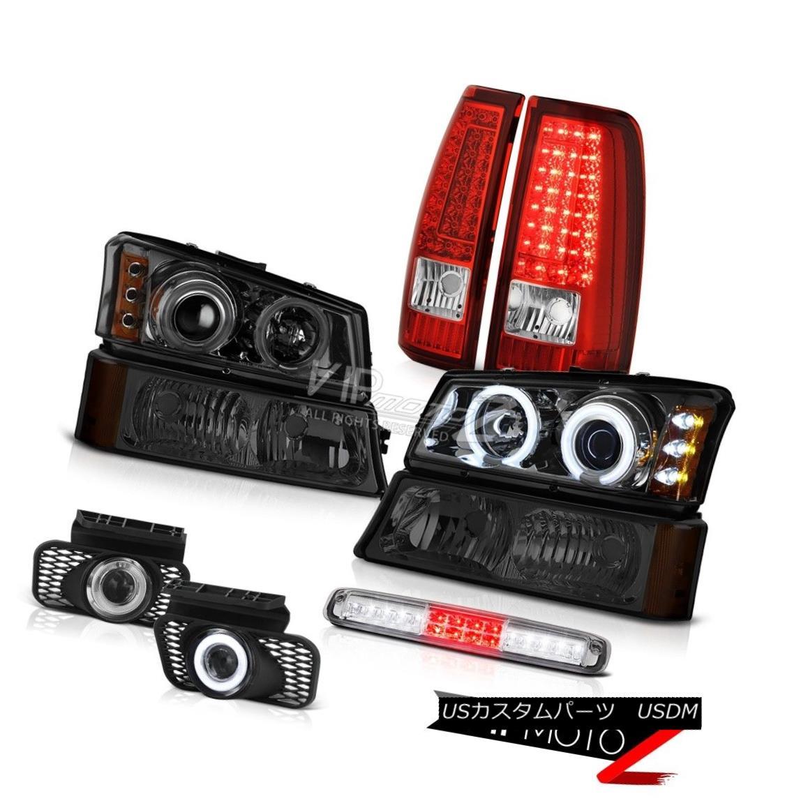ヘッドライト 03 04 05 06 Silverado Roof Brake Light Foglights Taillights Parking Headlights 03 04 05 06 Silveradoルーフブレーキライトフォグライトテールライトパーキングヘッドライト