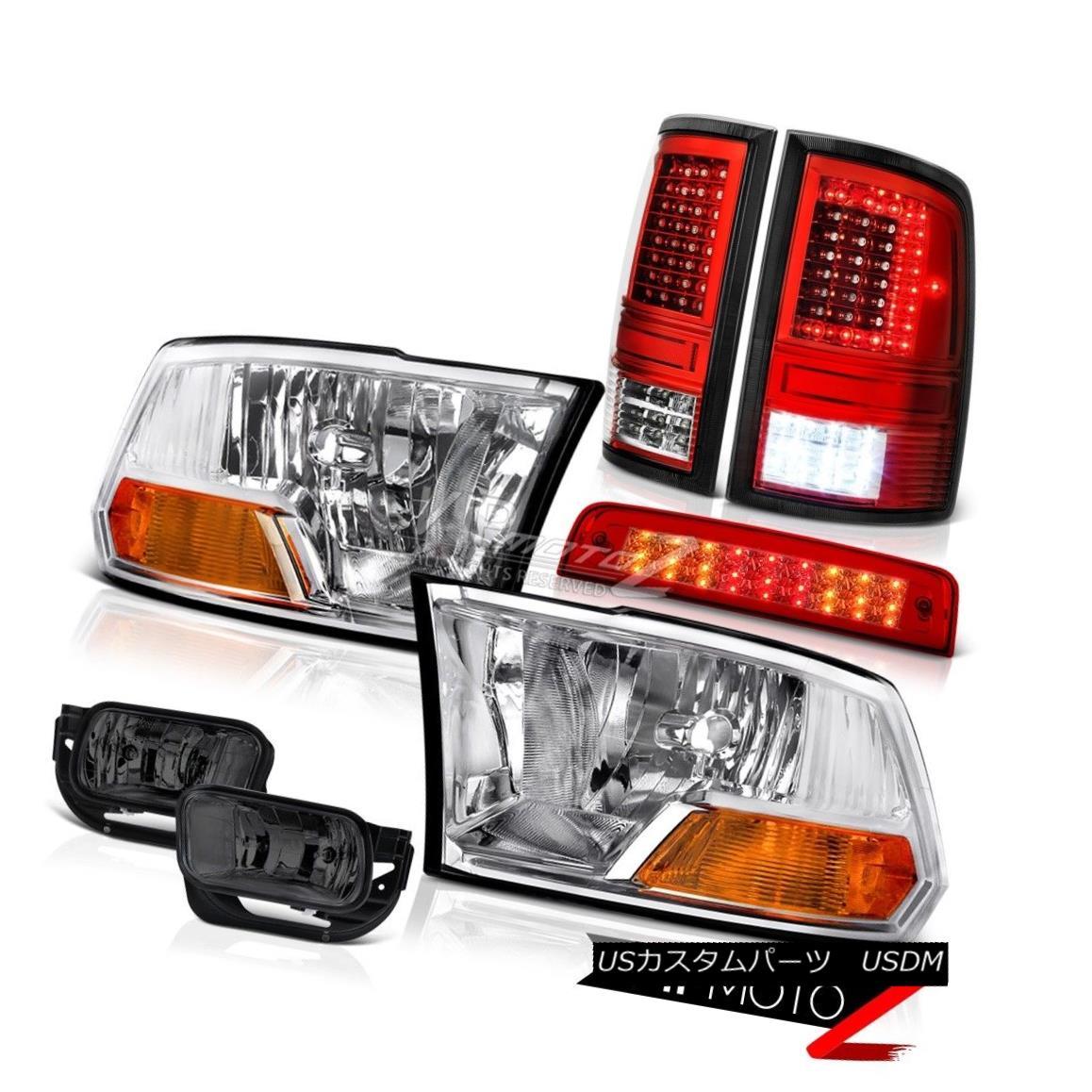 ヘッドライト 09-14 15-17 Dodge RAM 3500 Tail Lights Brake Light Fog Factory Style Headlamps 09-14 15-17ダッジRAM 3500テールライトブレーキライトフォグ工場スタイルヘッドライト