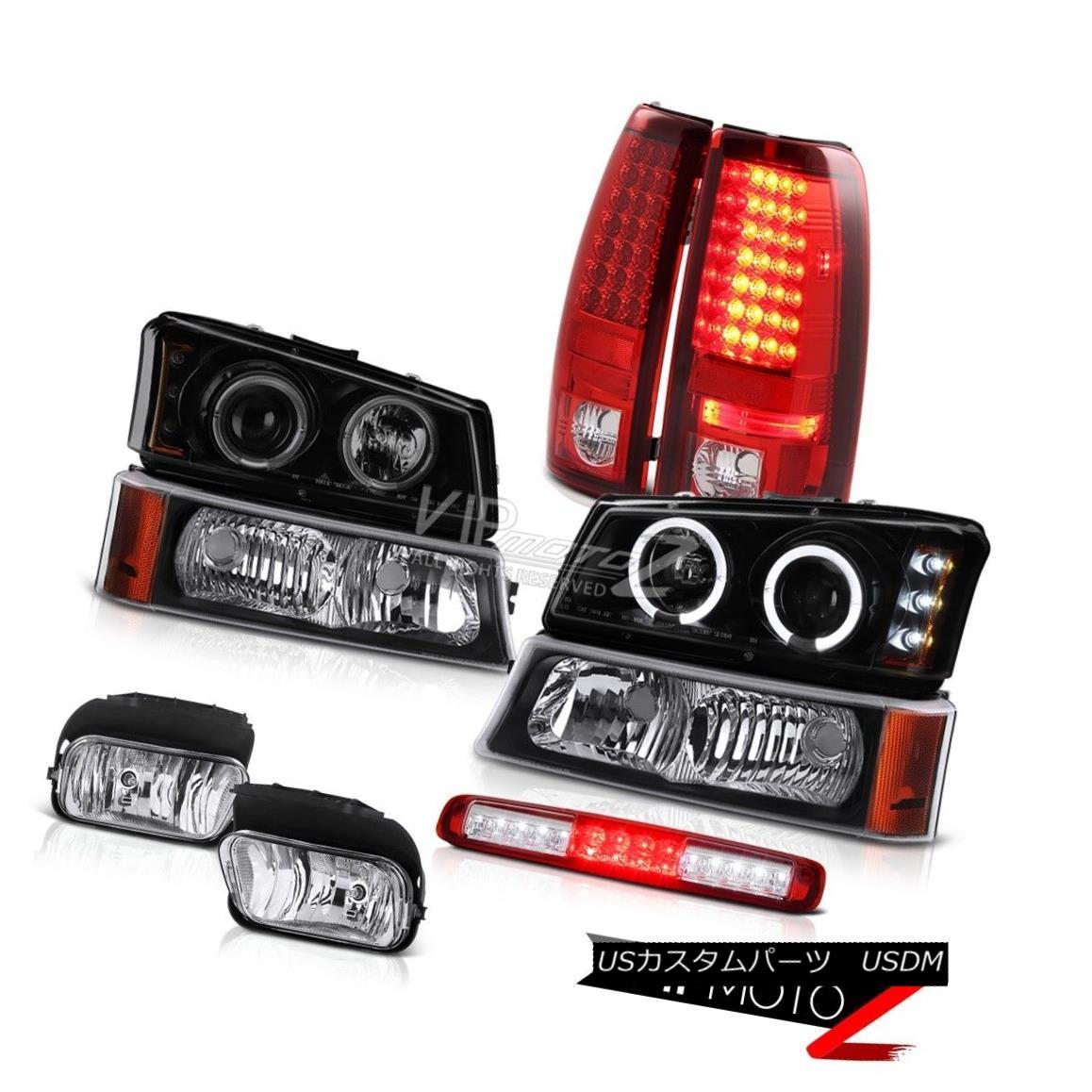 ヘッドライト 03-06 Silverado 1500 Chrome Fog Lamps Signal Lamp Roof Cab Headlamps Tail Lamps 03-06 Silverado 1500クロームフォグランプシグナルランプルーフキャブヘッドランプテールランプ