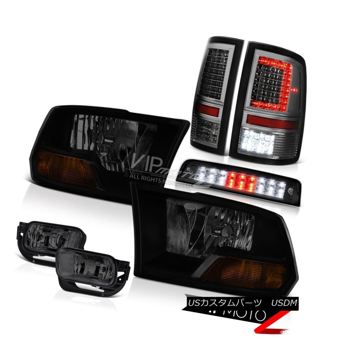 ヘッドライト 09-17 Dodge RAM 2500 Brake Light Tail Lamps Fog Factory Style Headlamp Assembly 09-17ダッジRAM 2500ブレーキライトテールランプ霧工場スタイルヘッドランプアセンブリ