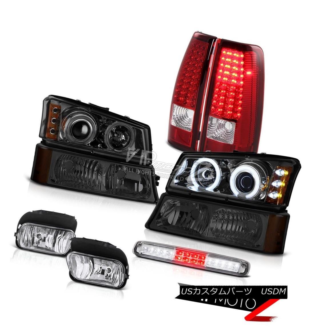ヘッドライト 2003-2006 Silverado Fog Lights Signal Lamp Roof Cargo Headlights Red Taillights 2003-2006シルバラードフォグライト信号ランプ屋根カーゴヘッドライト赤い曇り灯