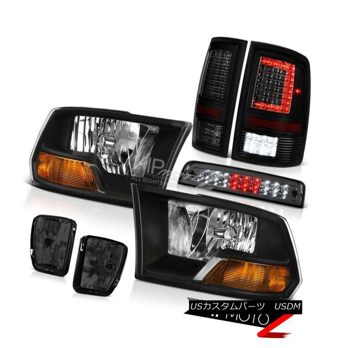 ヘッドライト 13-17 RAM 1500 Tail Lamp Fog Lamps Brake Lights Factory Style Head Replacement 13-17 RAM 1500テールランプフォグランプブレーキライト工場風ヘッド交換