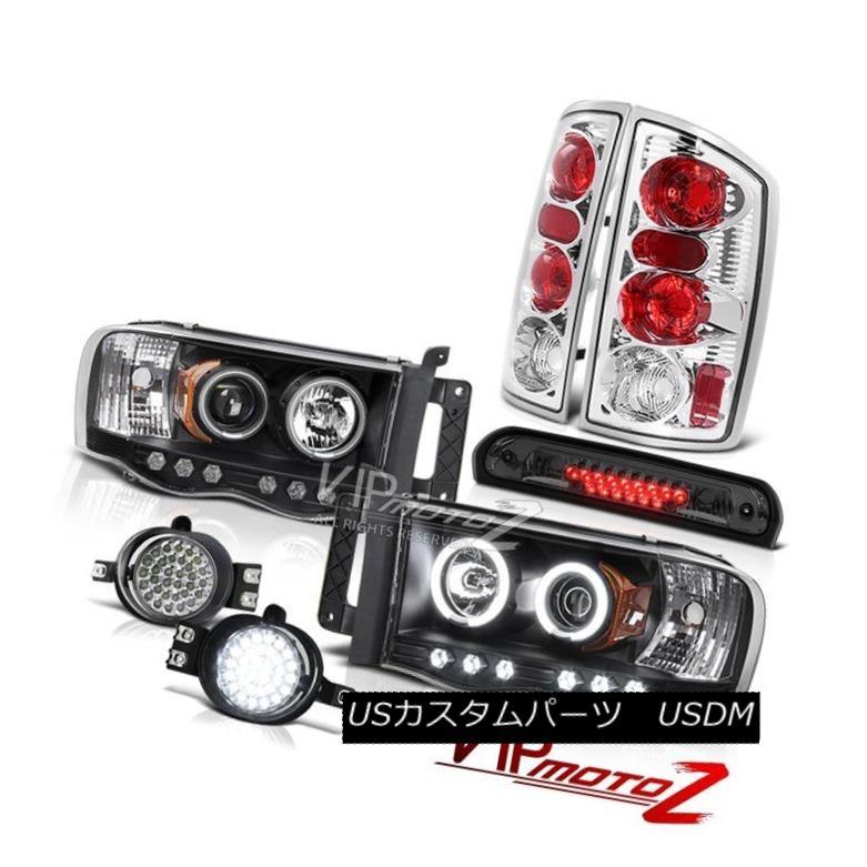 ヘッドライト 02 03 04 05 Ram Devil Ring Headlights Rear Signal Lamp LED Fog High Stop Smoke 02 03 04 05ラムデビルリングヘッドライトリアシグナルランプLEDフォグハイストップスモーク