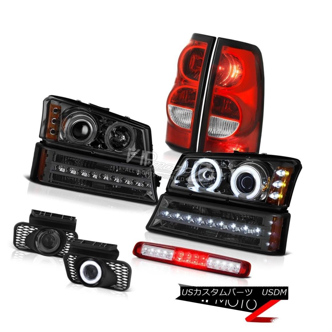 ヘッドライト 2003-2006 Silverado 1500 High Stop Light Foglights Taillights Bumper Headlamps 2003-2006 Silverado 1500ハイストップライトフォグライトテールライトバンパーヘッドランプ