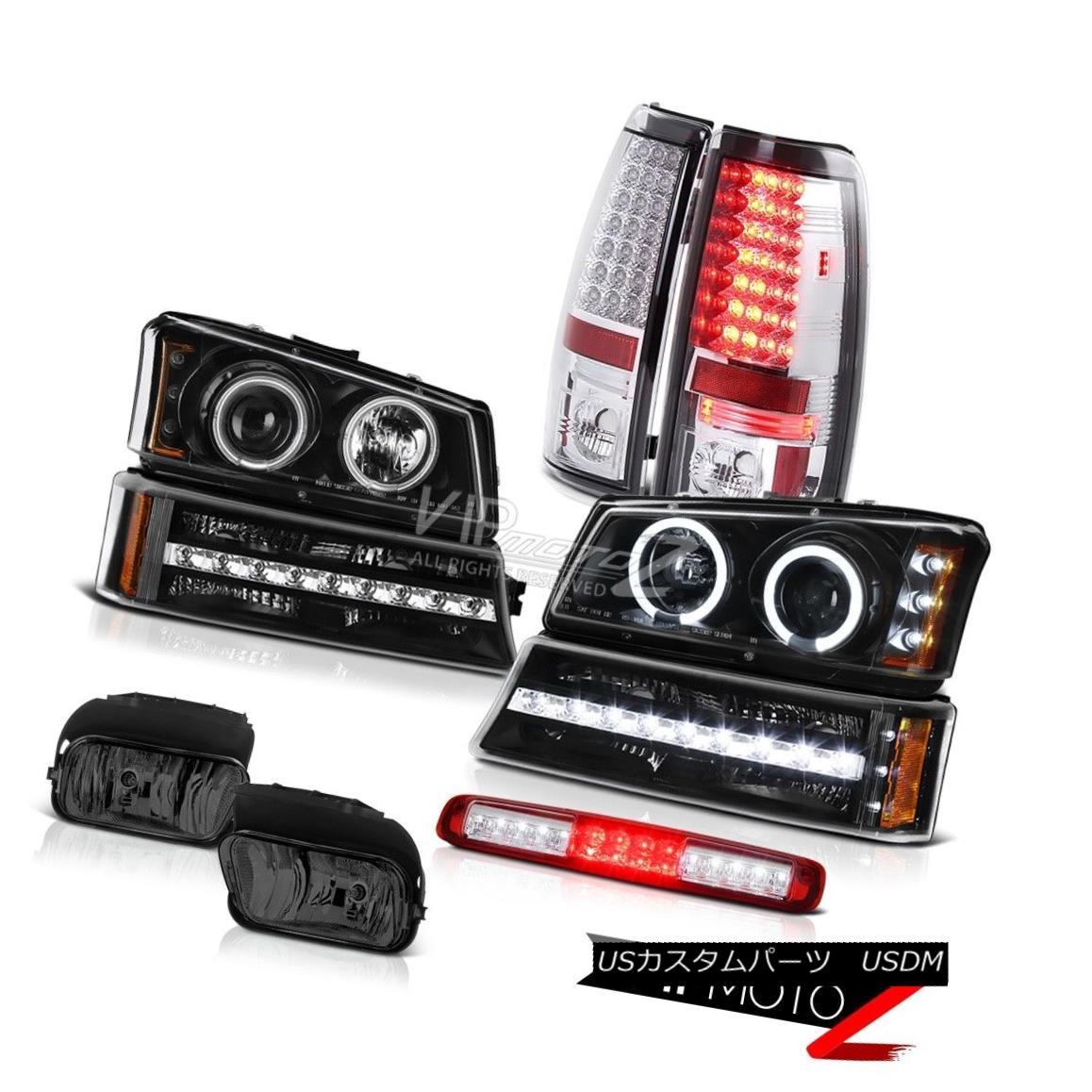 ヘッドライト 03-06 Silverado 2500Hd Fog Lights Roof Cab Light Bumper Headlamps Taillights 03-06 Silverado 2500Hdフォグランプルーフキャブライトバンパーヘッドランプテールランプ