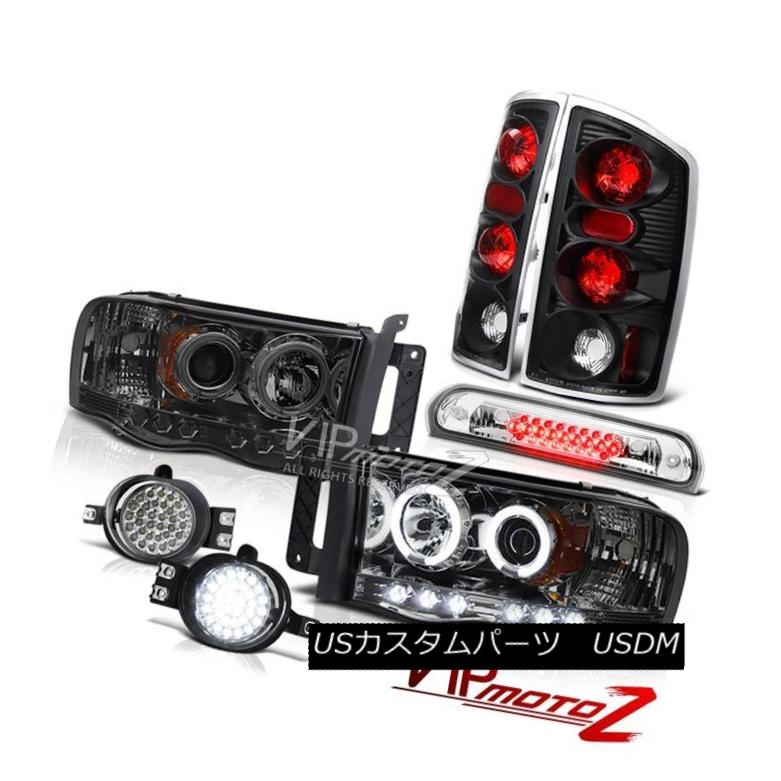 ヘッドライト 02 03 04 05 Ram CCFL Angel Eye Headlight Tail Light LED DRL System High Stop LED 02 03 04 05ラムCCFLエンジェルアイヘッドライトテールライトLED DRLシステムハイストップLED
