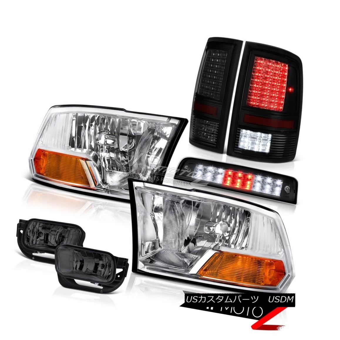ヘッドライト 09-16 Ram 1500 2500 3500 5.7L Third Brake Lamp Rear Lights Foglights Headlamps 09-16ラム1500 2500 3500 5.7L第3ブレーキランプリアライトフォグライトヘッドランプ