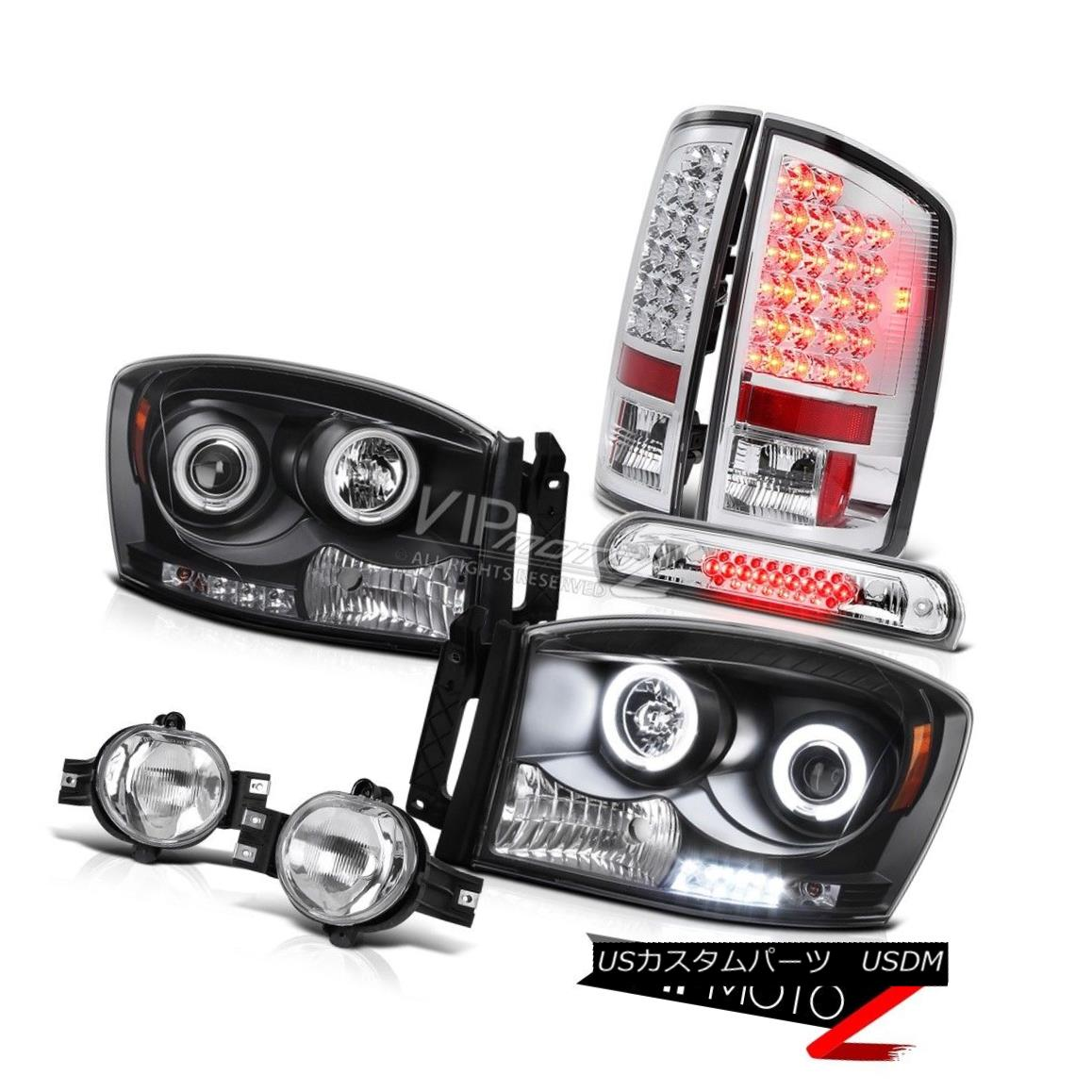 【良好品】 ヘッドライト 2006 Ram Halo Halo CCFL Headlamps Headlamps Clear 2006 LED Tail Lights Foglights Chrome 3rd Brake 2006 Ram Halo CCFLヘッドランプクリアLEDテールライトFoglights Chrome 3rd Brake, もっとホット:83a55cd1 --- online-cv.site